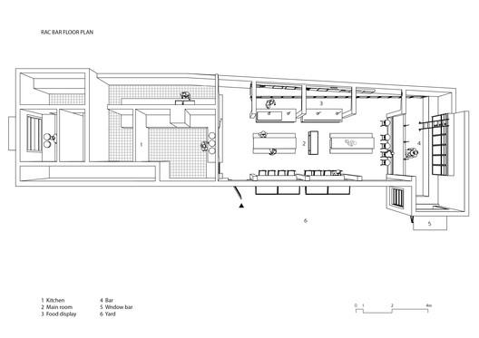 RAC Bar Floor Plan