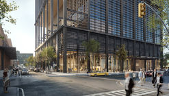 SOM Unveils Images of Chicago Office Tower With Five-Story Open-Air Deck