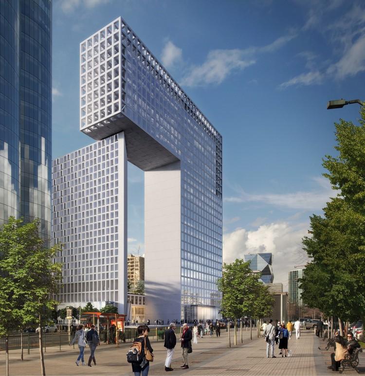 Undurraga Devés Arquitectos, finalista del concurso Puerta Las Condes con 'Construir Ciudad', Cortesía de INDESA