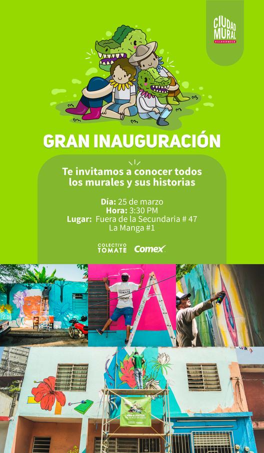 Colectivo Tomate Presenta Ciudad Mural Villahermosa Archdaily Mexico