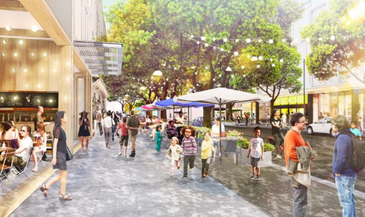 Bem-vindo à Zucktown: o Facebook definirá nossas cidades do futuro?, Willow Village fará parte do Willow Campus projetado pelo OMA para o Facebook. Image Cortesia de OMA