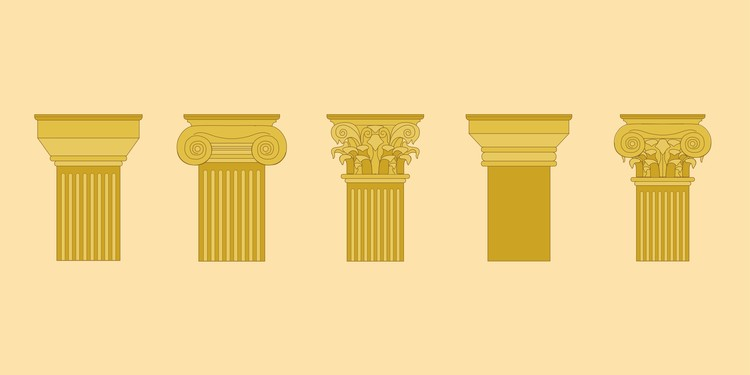 Capitals Of Classical Antiquity: Understand The Difference Between The 5 Orders, © Matheus Pereira