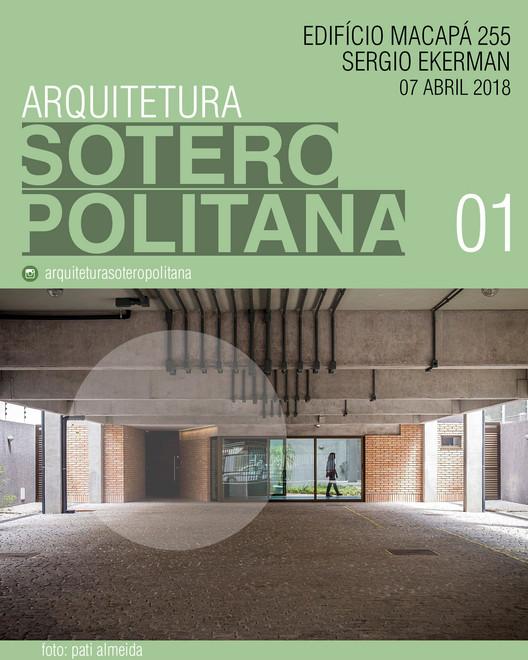 Arquitetura Soteropolitana 01 - Edifício Macapá, cartaz do evento