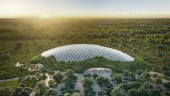 Coldefy & Associates Design World's Largest Single-Domed Tropical Greenhouse