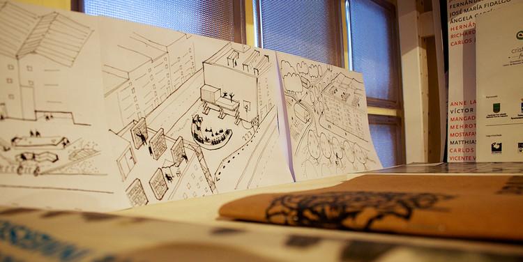 5 puntos básicos para una arquitectura digna, Fragmento de la oficina de Paisaje Transversal en España. Image © Paisaje Transversal