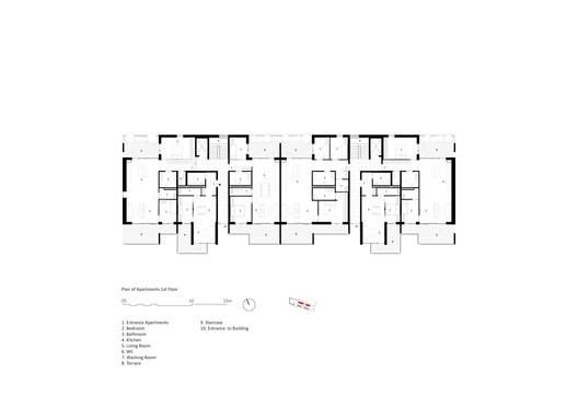 Ground Floor Plan - Apartments