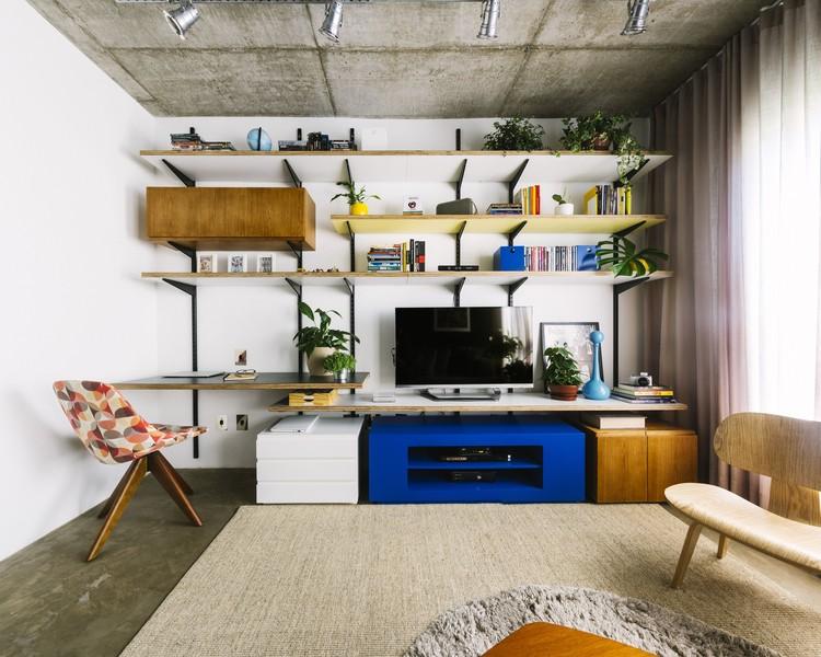 Apartamento Petrópolis / Renata Ramos Arquitetura, © Gabriel Carpes