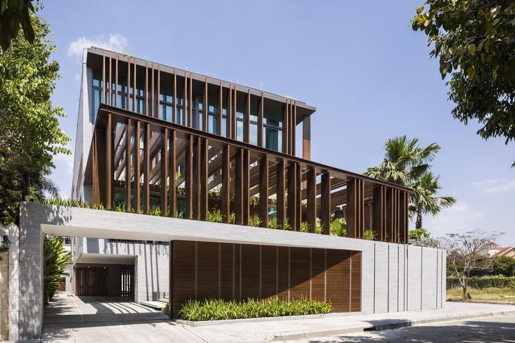 Louvers House / MIA Design Studio, © Hiroyuki Oki