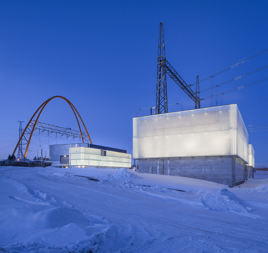 Länsisalmi Power Station / Parviainen Architects