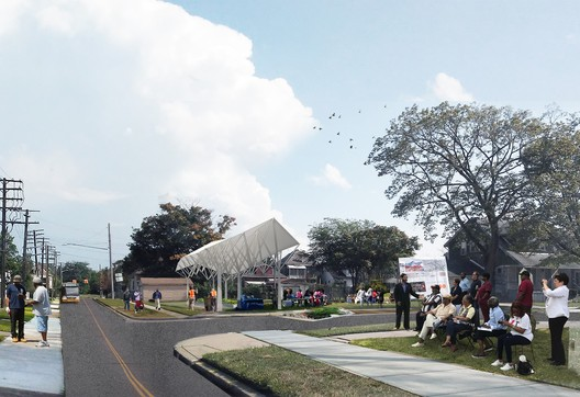 Bronze Medal: Grassroots Microgrid in Michigan. Image Courtesy of Global LafargeHolcim Awards