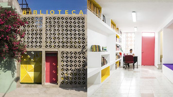 Arquitectura social, incluyente y participativa: Biblioteca Colonia Infonavit Cuauhtémoc / Proyecto Reacciona