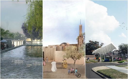Winning schemes were situated in Mexico, Niger, and the USA. Image Courtesy of Global LafargeHolcim Awards