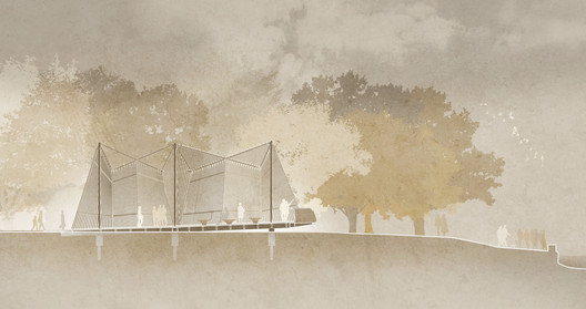 Chapel Section. Image Courtesy of Foster + Partners