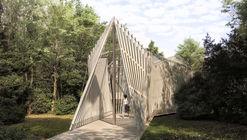 Foster + Partners presenta diseño de capilla para el Vaticano en la Bienal de Venecia 2018