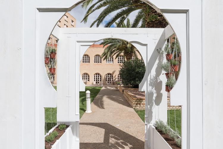 I Certamen de Arte Efímero Des-Adarve en Tudela , Intervención Aromas en el tiempo - Residencia La Misericordia - 2017