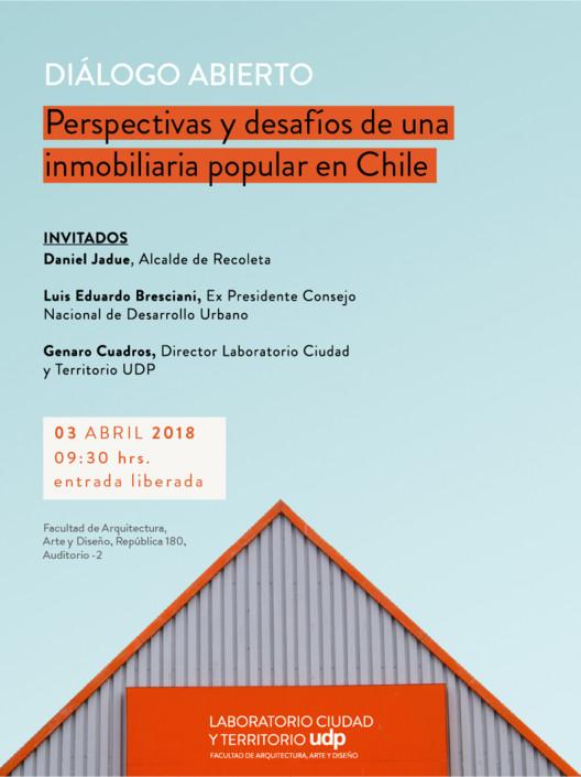 Diálogo abierto 'Perspectivas y desafíos de una inmobiliaria popular en Chile'