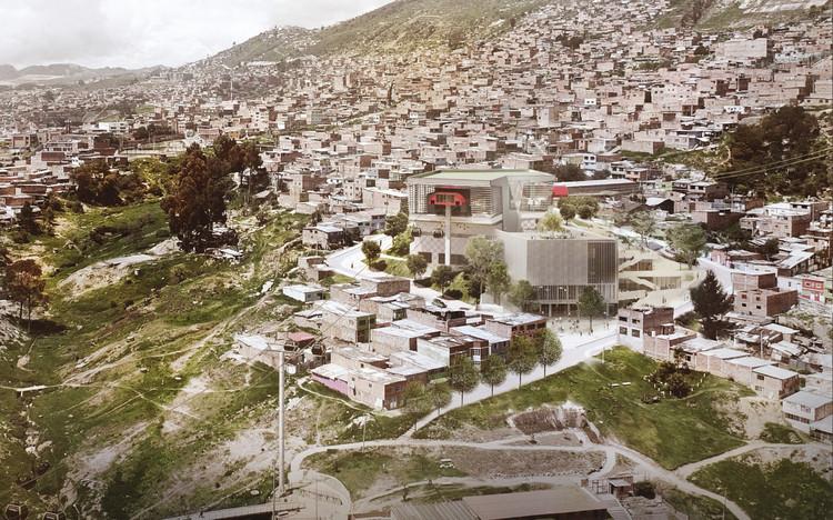 Arquitectura en Estudio diseñará el futuro SuperCADE Manitas en Ciudad Bolívar, Colombia, Cortesía de Arquitectura en Estudio
