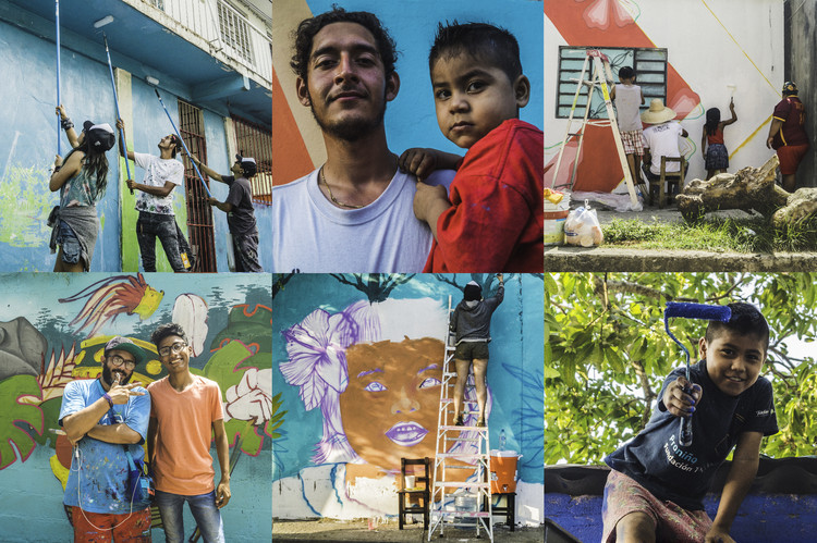 Muralismo Mexicano Con Accion Social Ciudad Mural Villahermosa