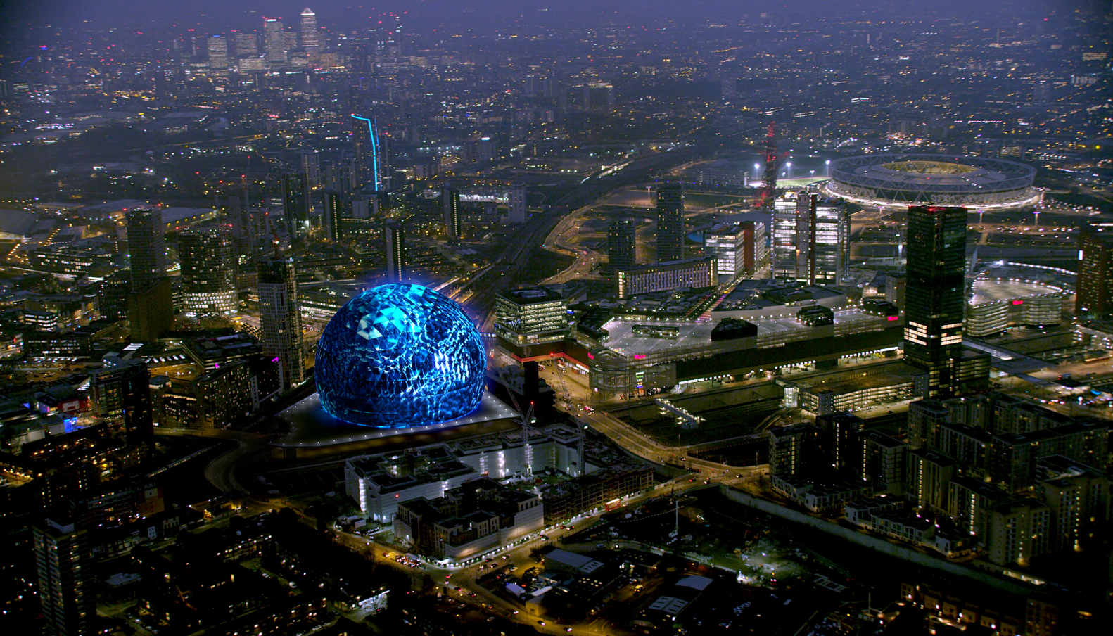 Madison Square Garden Unveils Images Of Spherical Events Venue In  London,Courtesy Of The Madison
