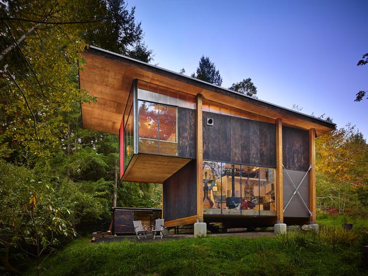 Scavenger Studio / Eerkes Architects + Olson Kundig, © Benjamin Benschneider