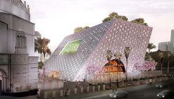 OMA revela diseño de pabellón para Wilshire Boulevard Temple en Los Angeles