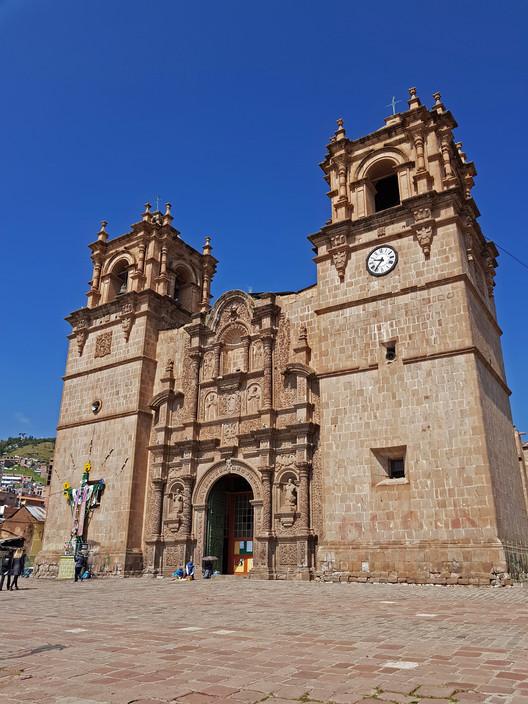 Catedral de Puno. Image © Nicolás Valencia