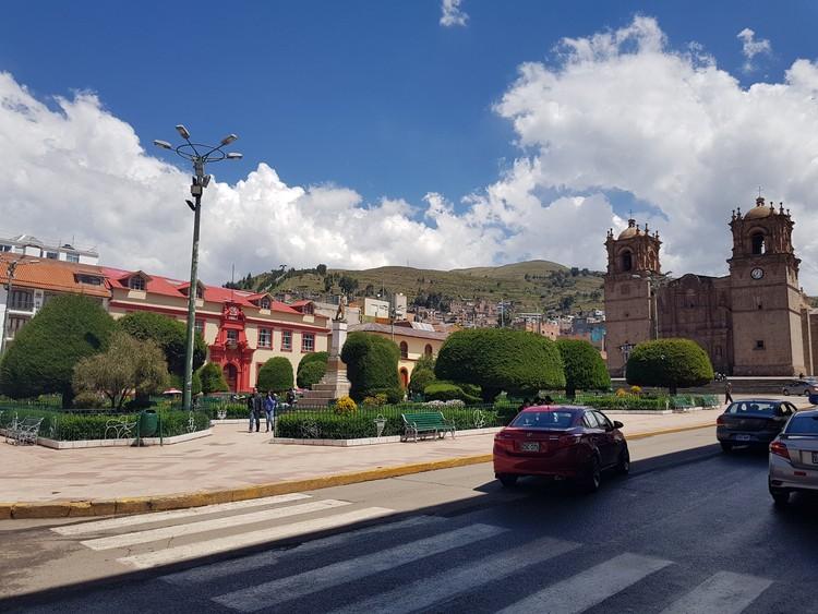 Plaza de Armas de Puno. Image © Nicolás Valencia