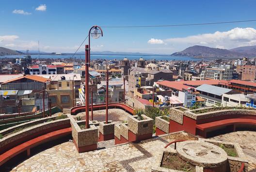Mirador del cerrito Huajsapata. Image © Nicolás Valencia