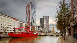 Barcode Architects Brings New Triangular Residential Tower to Rotterdam's Skyline