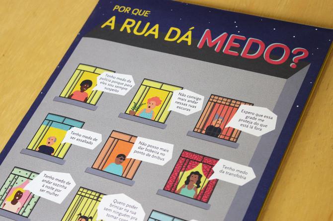 """""""Medo"""" será tema de workshop de intervenções urbanas conduzido pelo coletivo Micrópolis na SAAU'18 em João Pessoa., Por que a rua dá medo?"""