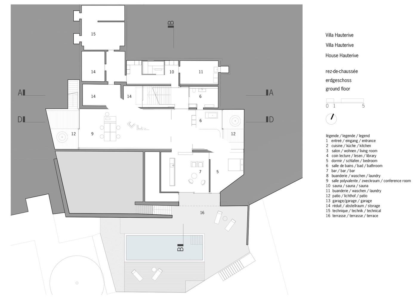 Salle De Bain Buanderie Plan