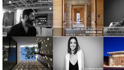 """Sesión 242. """"Visión Joven de la Arquitectura"""" Vicente Tapia, Marcela González y Kenji López"""