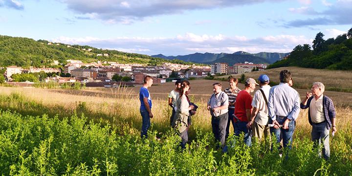 Urbanismo en beta permanente, mapeo realizado en el proyecto OlotmésB. Image © Paisaje Transversal