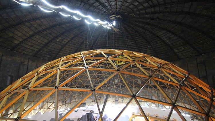 Geodésica de madeira abriga o maior planetário do mundo, © Anastasia Ra, Daria Priroda, Olga Romanenko