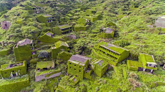 """Is This the Most Beautiful Ghost Town Ever"""" Drone Video Captures Chinese Village Reclaimed by Nature"""