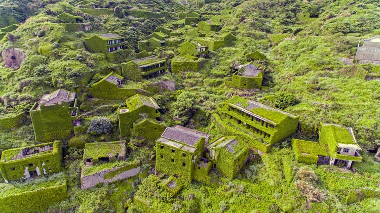 Is This the Most Beautiful Ghost Town Ever? Drone Video Captures Chinese Village Reclaimed by Nature