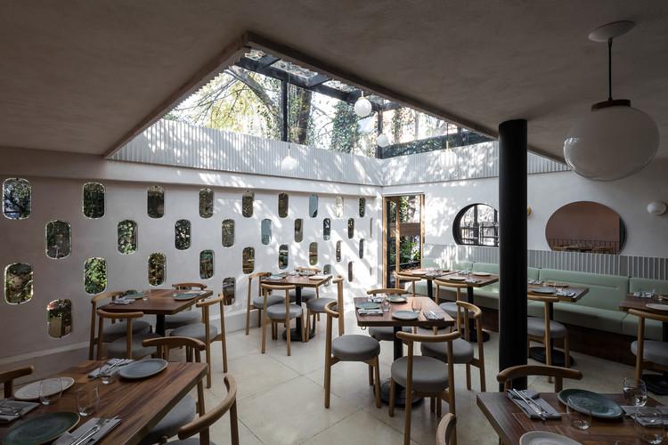 Meroma Restaurant / Oficina de Práctica Arquitectónica, © Luis Young