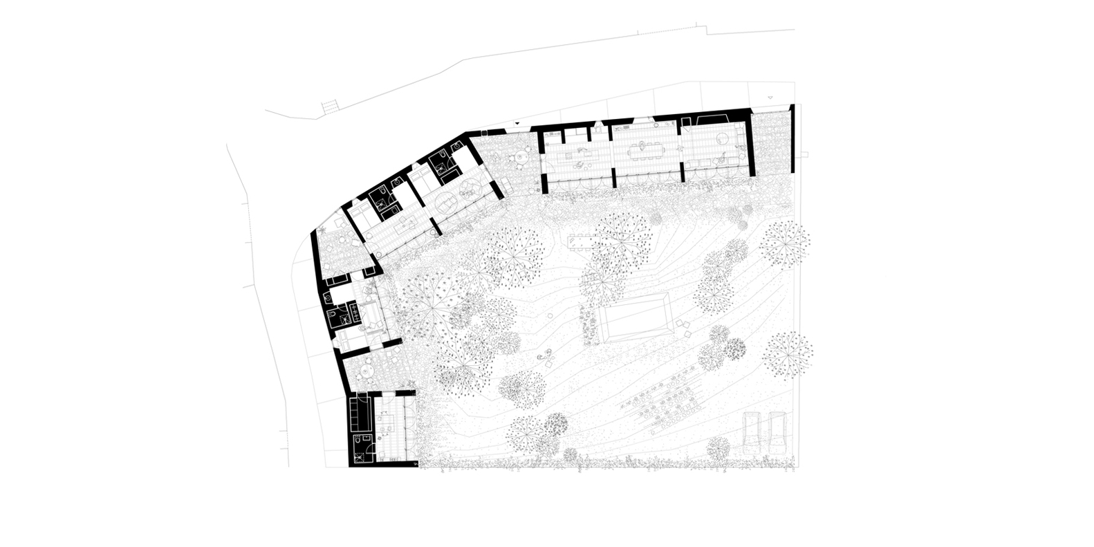 1413 House,Ground Floor Plan