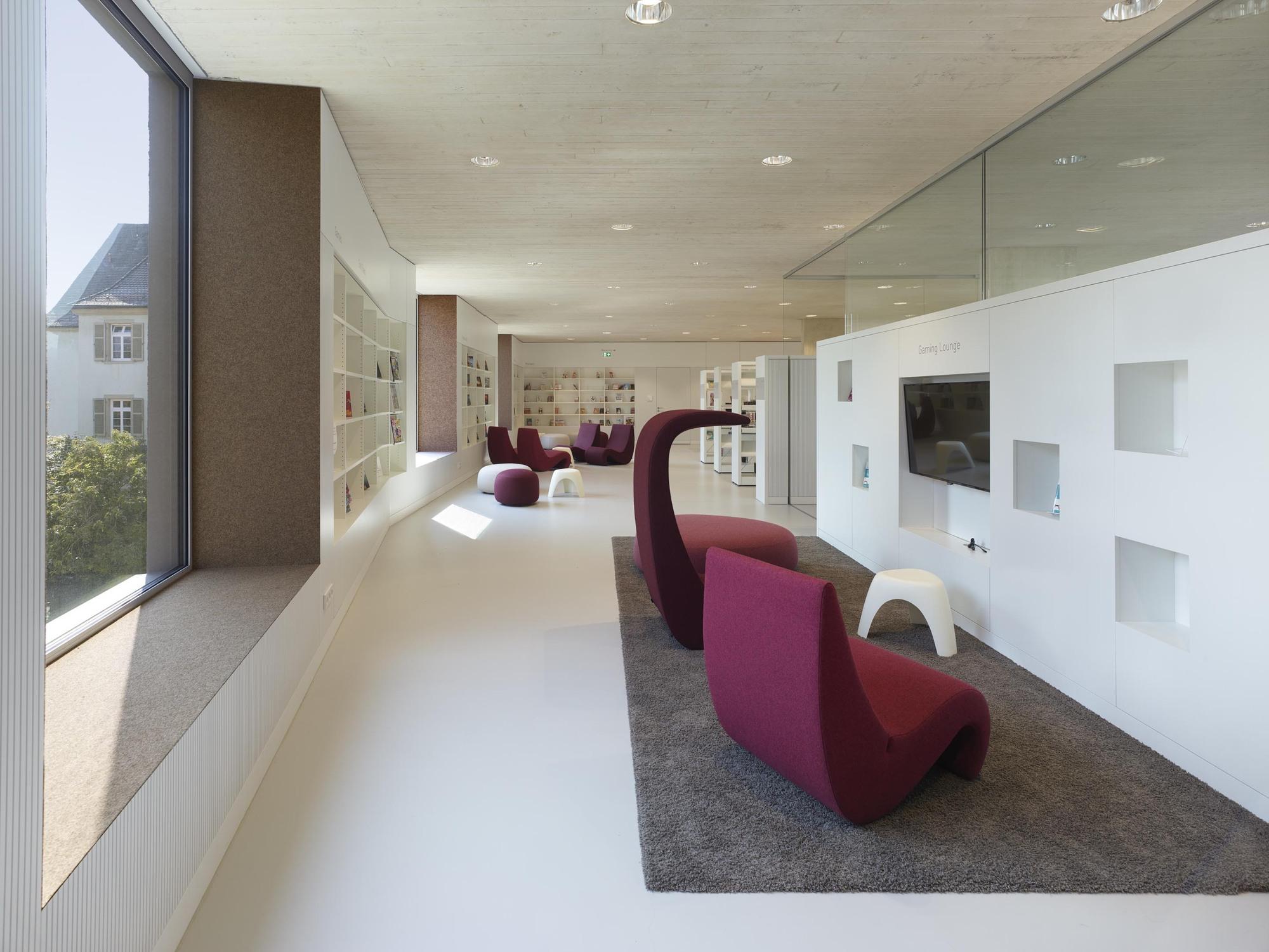 Gallery of City Library Rottenburg / harris + kurrle architekten bda - 6