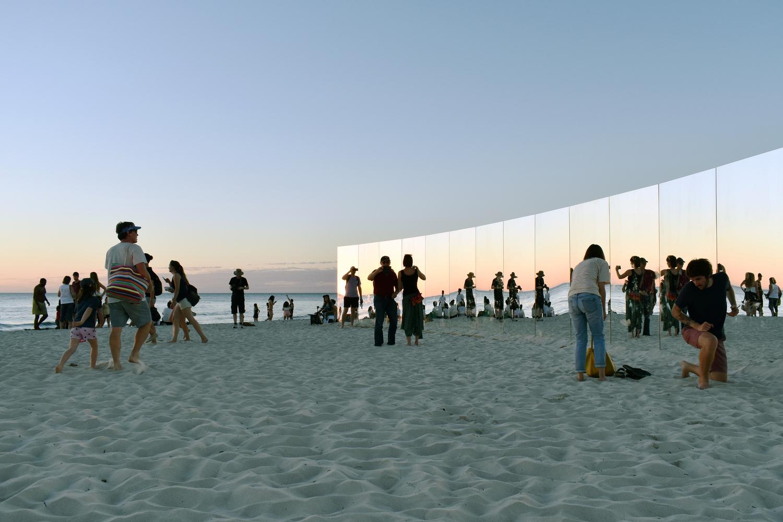 gallery of on cottesloe beach, gjøde & partnere arkitekter create a