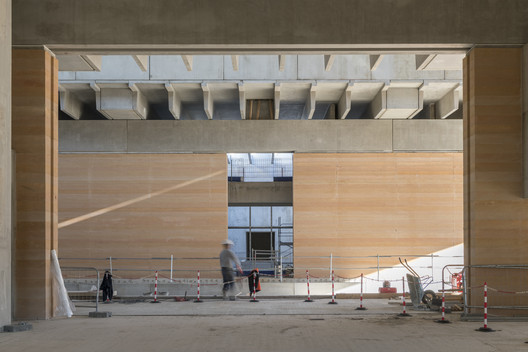 Museum Narbonne. Image Courtesy of Nigel Young / Foster + Partners