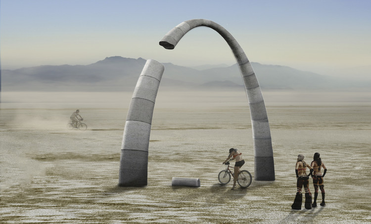 International Ideas Competition: Resolute Arch, Resolute Arch by Rhodesworks Design Studio
