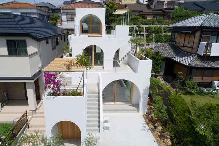Casa en Tarumi / Tomohiro Hata Architect and Associates, © Toshiyuki Yano