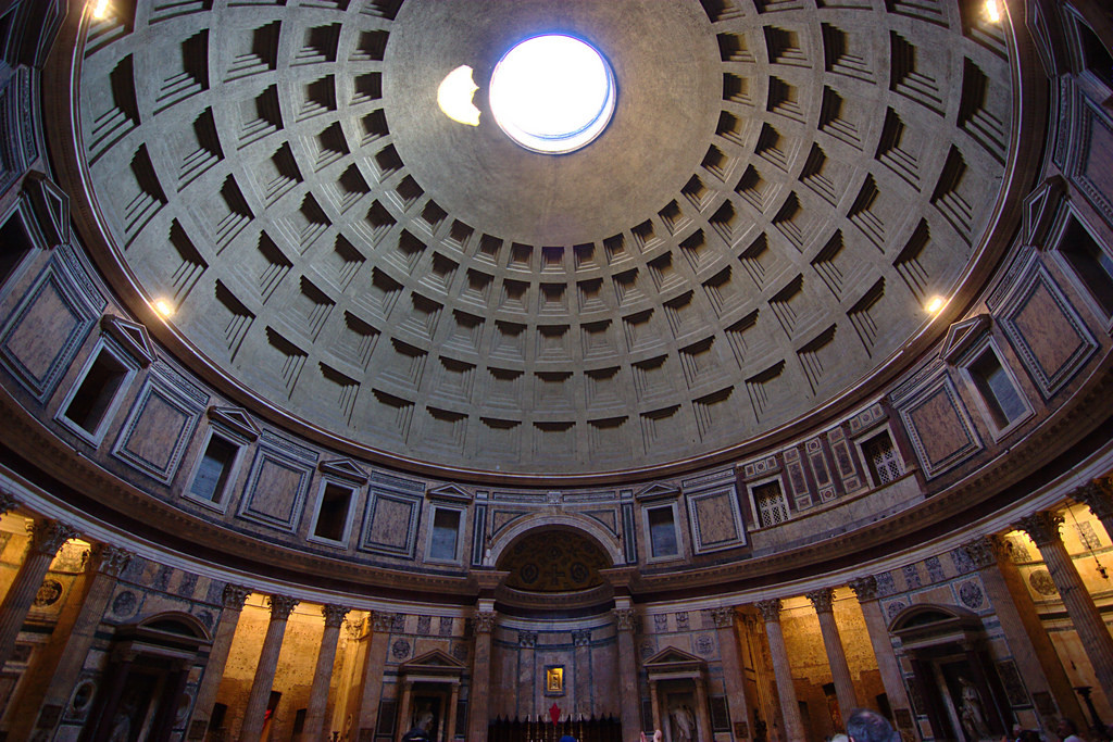 The Pantheon. Image© Flickr user Jun licensed under CC BY SA-2.0