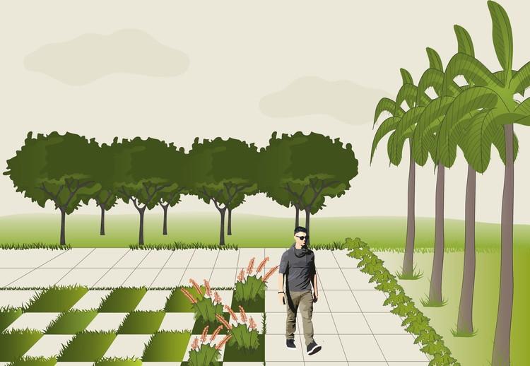 Elementos chave de Paisagismo: arbustos, gramas, forrações e pisos, © Matheus Pereira