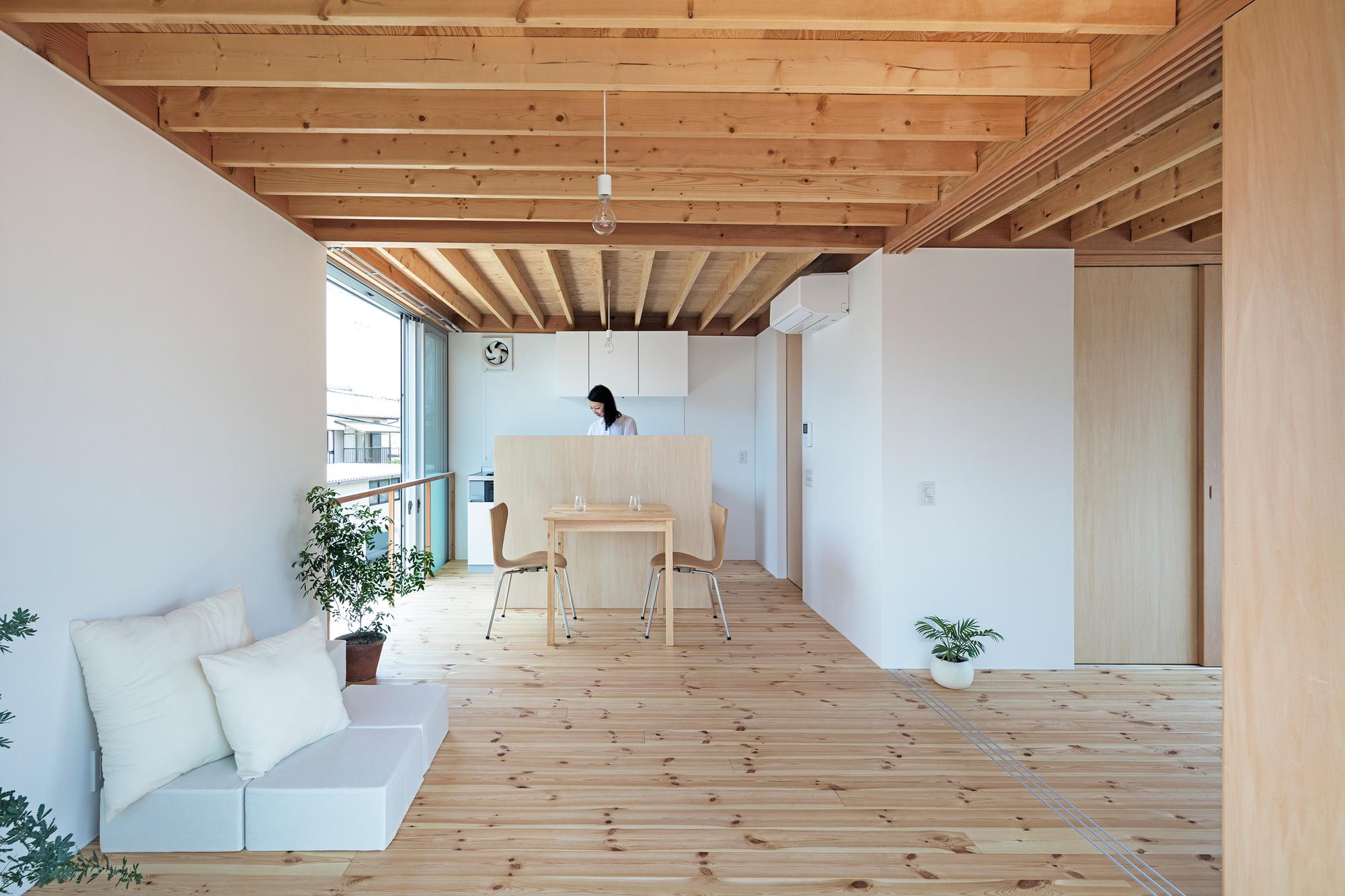 gré Square House / suzuki architects