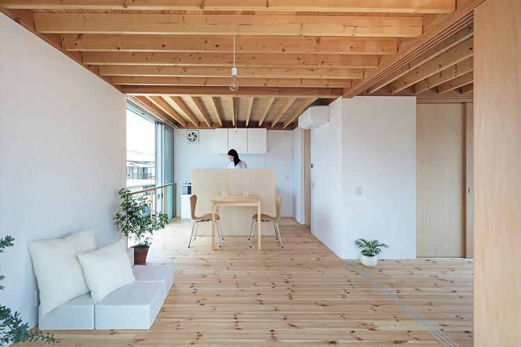 gré Square House / suzuki architects, © Kenta Hasegawa