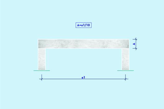 Aprende a pre dimensionar una estructura de hormig n for Muro de separacion terraza