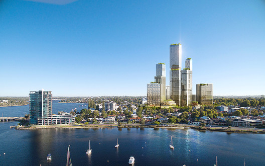 "Woods Bagot Masterplan ""The Next Generation of Mixed-Use Development"" in Perth"