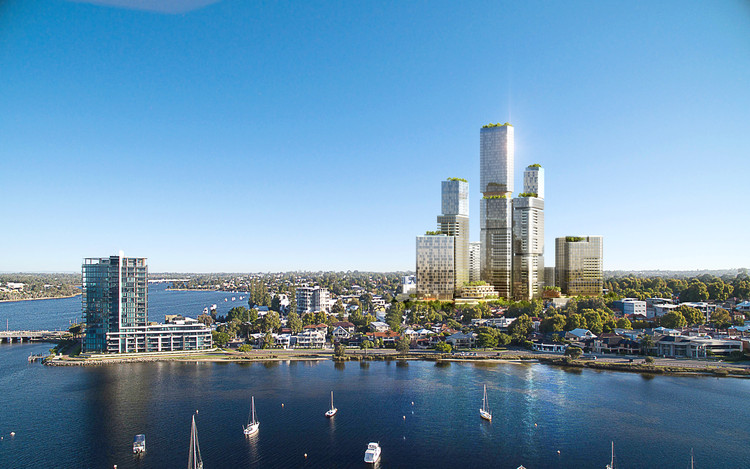 "Woods Bagot Masterplan ""The Next Generation of Mixed-Use Development"" in Perth, © Tom Nattrass"